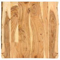 vidaXL Tafelblad 60x(50-60)x2,5 cm massief acaciahout