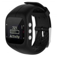 Polar A300 Training Horloge Armband Siliconen Zwart
