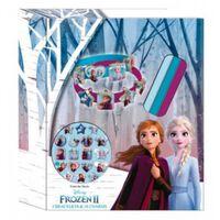 maak je eigen armband Frozen 2 rubber 21-delig