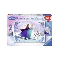 Ravensburger Puzzel Frozen: 2 X 24 Stukjes