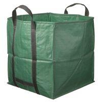 Nature Garden Afvalzak vierkant 325 L groen 6072401