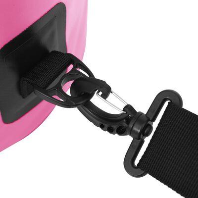 vidaXL Drybag 10 L PVC roze