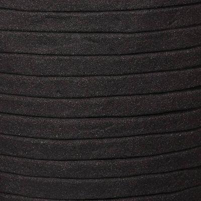 Capi Bloempot Nature Row elegant laag 36x47 cm zwart KBLRO782