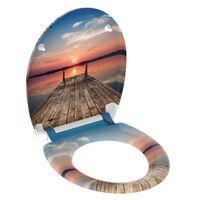SCHÜTTE Toiletbril met soft-close quick-release SUNSET SKY