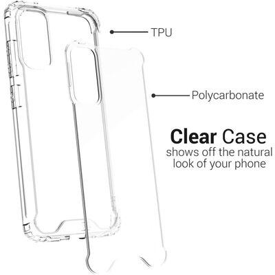 Transparant telefoonhoesje voor Samsung Galaxy A91 / M80S / S10LITE