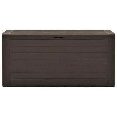 vidaXL Tuinbox 116x44x55 cm bruin