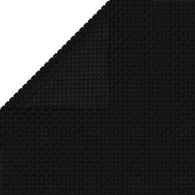 vidaXL Zwembadhoes 400x200 cm PE zwart