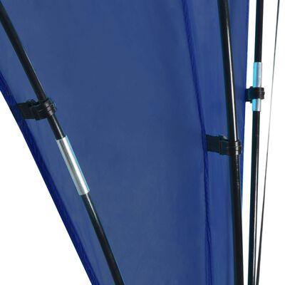 vidaXL Partytent boog 450x450x265 cm donkerblauw