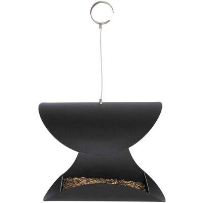 Esschert Design Vogelvoederbak hangend zwart L FB438