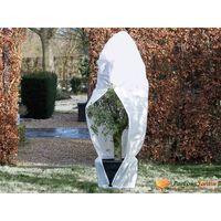 Nature Winterhoes met rits 70 g/m² 1,5x1,5x2 m wit