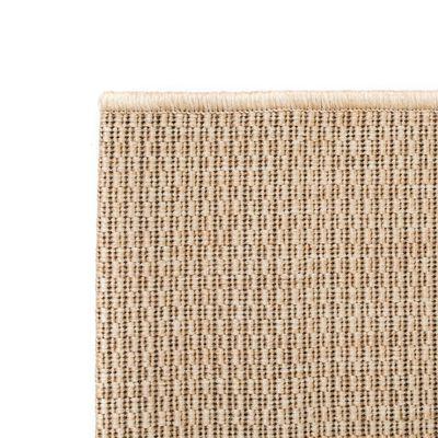 vidaXL Vloerkleed binnen/buiten 160x230 cm sisal look beige