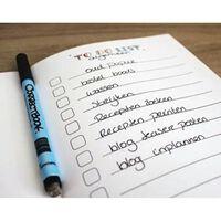 Correctbook Scratch to-do lijst 8 pagina's (4 vel), uitwisbaar / he...
