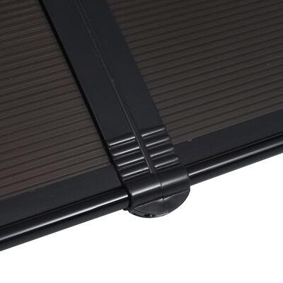 vidaXL Deurluifel 300x100 cm PC zwart , Zwart