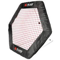 Pure2Improve Voetbal rebounder zeshoekig 140x125 cm