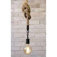 Groenovatie Vintage Touwlamp 200cm Enkele Fitting E27 .