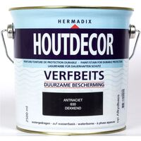 Houtdecor 630 antraciet 2500ml