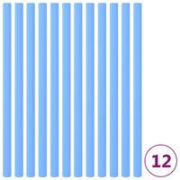 vidaXL Trampolinepaalhoezen 12 st 92,5 cm schuim blauw