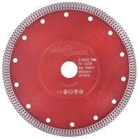 vidaXL Diamantzaagblad met gaten 230 mm staal