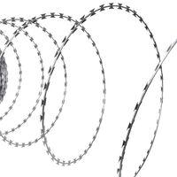 vidaXL Prikkeldraad concertina NATO 300 m gegalvaniseerd staal