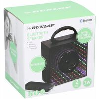Dunlop Bluetooth Speaker - 3W - LED Lights