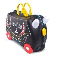 Trunki Ride-On piraat Pedro koffer zwart 46 x 30 x 21 cm