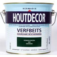 Houtdecor 623 donker groen 2500 ml