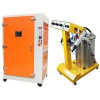 Poeder Coating Machine En Oven Voordelbundel
