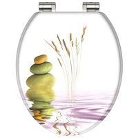 SCHÜTTE Toiletbril met soft-close BALANCE MDF