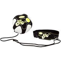 Get & Go Voetbalvaardigheidstrainer zwart en geel