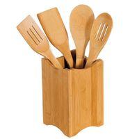 FSC Bamboe 5-delige Houten Keukenset - Keukengerei inclusief