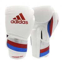 adidas adiSPEED Strap-Up bokshandschoenen rood/wit 14 oz