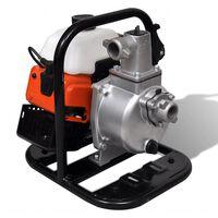 vidaXL Waterpomp benzine 2-taks 1,2 kW 0,95 L
