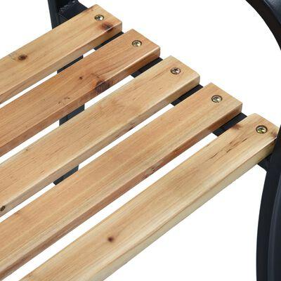 vidaXL Tuinbank 120 cm hout