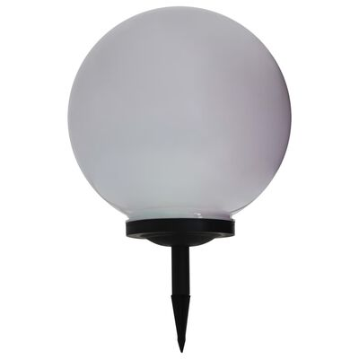 vidaXL LED-solarlamp rond 40 cm RGB