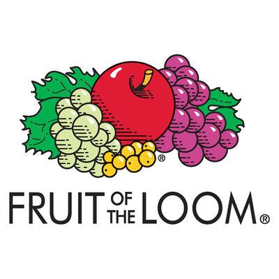 Fruit of the Loom T-shirts Original 10 st S katoen wit