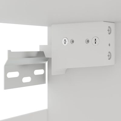 vidaXL 7-delige Keukenkastenset spaanplaat wit
