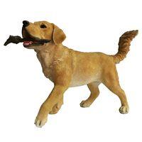 Esschert Design Labrador met tak 62,6x23,7x40 cm