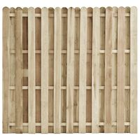 vidaXL Schuttingpaneel 180x170 cm geïmpregneerd grenenhout