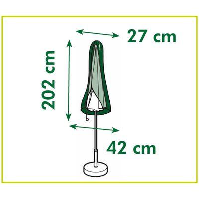 Nature Tuinmeubelhoes voor rechte parasols 202x42x27 cm