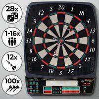 Trend24 - Elektronisch dartbord - Dartspel -  LED-display - 28