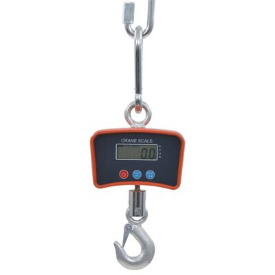 vidaXL Kraanweegschaal elektrisch 300 kg