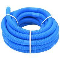 vidaXL Zwembadslang 38 mm 15 m blauw