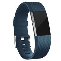 Armband voor Fitbit Charge 2 - Donkerblauw - S