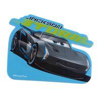 Disney Cars 3 reuzegum Jackson Storm 10 cm blauw/grijs