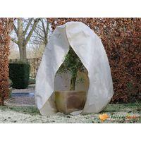 Nature Winterhoes met rits 70 g/m² 2x2,5 m beige