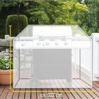 Kinzo Barbecuehoes Groot - 122 X 71 X 76 Cm - Waterbestendig