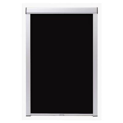 vidaXL Rolgordijn verduisterend zwart MK08
