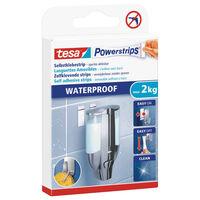 6x Tesa Powerstrips large waterproof klusbenodigdheden -