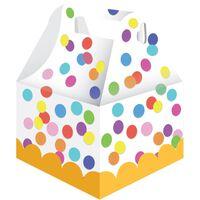 Haza Original uitdeel-doosje confetti 10,5 cm