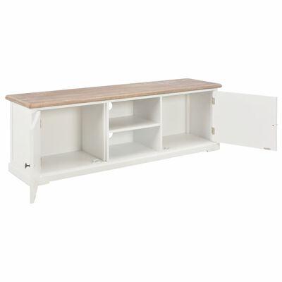vidaXL Tv-meubel 120x30x40 cm hout wit
